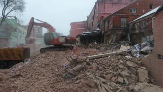 В Воронеже вопреки скандалу продолжили уничтожать старинный хлебозавод