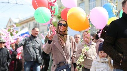 Первомайская демонстрация собрала в Воронеже более 32 тыс. человек