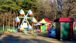 В воронежском парке «Танаис» демонтировали 5 аттракционов