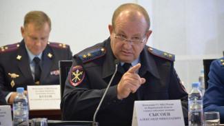 Главный воронежский полицейский за год увеличил доходы на треть