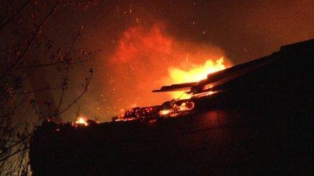 Ночной пожар в воронежском селе унёс жизнь 57-летнего мужчины