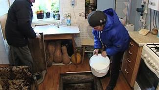 Пока воронежцы отчерпывали воду из погребов, сотрудники Водоканала ждали потепления