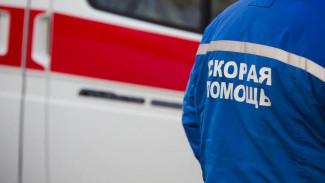 В центре Воронежа в ДТП с двумя иномарками пострадала автомобилистка