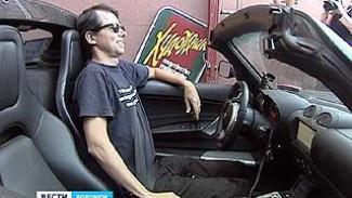 В Воронеже на своем электромобиле побывал испанец Рафаэль де Местрэ