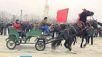 В Воронеже отрепетировали эстафету Олимпийского огня