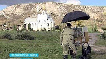 Капризная осень - в красках: пленэр в Острогожске прошёл под дождём