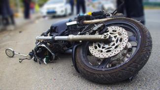 Ехавшие на мотоцикле 17-летние парни пострадали в ДТП в Воронежской области