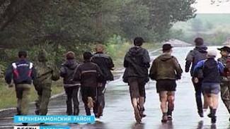 Верхнемамонские школьники все еще бегут к Олимпийскому Сочи