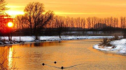 В Воронежской области началась астрономическая зима