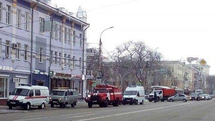 В Воронеже неизвестные заминировали здание мэрии