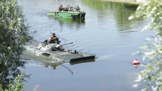 Воронежские военные провели масштабные учения на воде