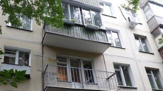 В Воронеже спасли женщину, попавшую в западню на собственном балконе