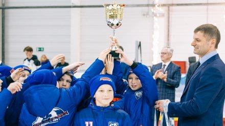 Нововоронеж принял первый детский хоккейный турнир среди городов-спутников АЭС