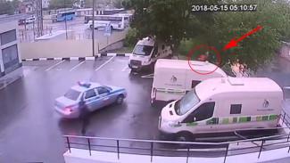 Появилось видео погони за преступниками, устроившими в Воронеже перестрелку с полицией