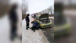 Воронежский пенсионер мог встретить Новый год на трассе из-за поломки машины