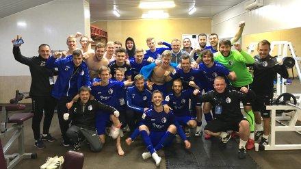 Воронежский «Факел» выиграл матч с красноярцами после отставки главного тренера