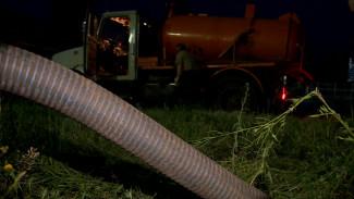 В Воронеже спасительный ил с правобережных очистных перевезли на ЛОС ночью