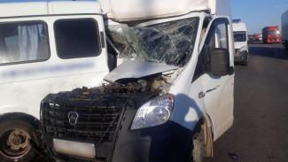 Трое волгоградцев пострадали в ДТП с двумя «Газелями» в Воронежской области