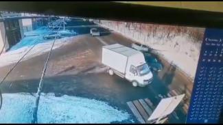 Появилось видео жуткого ДТП в воронежском райцентре с участием 10-летнего мальчика