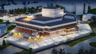Подсветка и обновлённая смотровая площадка. Как в Воронеже реконструируют концертный зал