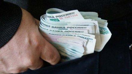 Силовики назвали среднюю сумму взятки в Воронежской области