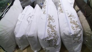В Воронеже на выставке Ивановского текстиля представлен широкий выбор подушек