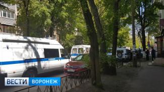 Налётчик совершил публичное самоубийство в банке в центре Воронежа