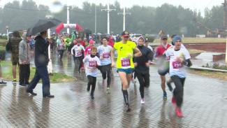 Быстро и под дождём. Как прошёл Воронежский марафон