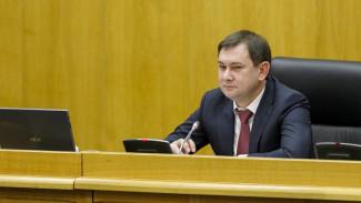 Спикером Воронежской облдумы во второй раз стал Владимир Нетёсов