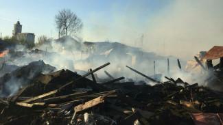 В Воронежской области из-за горе-банщика сгорели 4 дома и собака