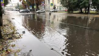 Сезон мокрых ног. Почему сильные дожди топят Воронеж, несмотря на ливнёвку