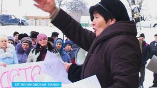 Жители Бутурлиновского района перерабатывать в своём селе мусор не соглашаются