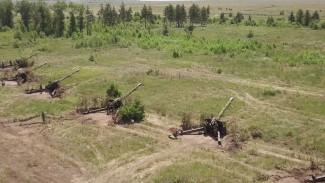 Мотострелки провели эффектные противотанковые учения под Воронежем
