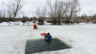 Прорыв плотины и тонущие рыбаки. Воронежские спасатели отрепетировали действия при паводке