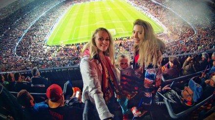 Жительница Воронежа побывала на фантастическом матче «Барселона» – ПСЖ
