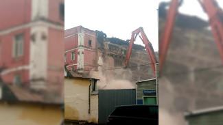 Воронежцы вновь вызвали полицию к уничтожаемому старинному хлебозаводу