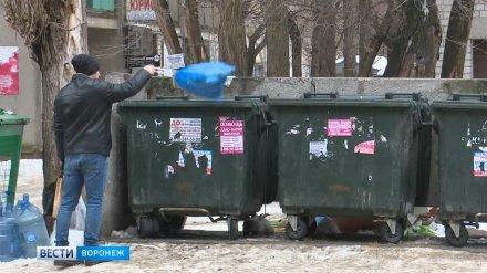 На раздельный сбор мусора в Воронежской области выделят 500 млн рублей