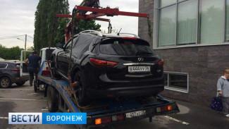 Воронежские силовики рассказали подробности перестрелки полиции с угонщиками Infiniti