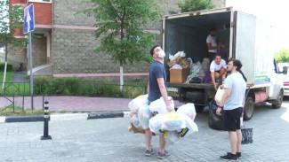 «Это очень удобно». Как экотакси помогает воронежцам отдать мусор на переработку