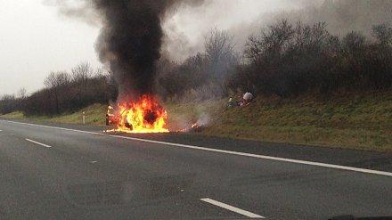 В Воронежской области в ДТП с пожаром погиб 29-летний водитель