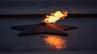 На площади Победы в Воронеже погас Вечный огонь