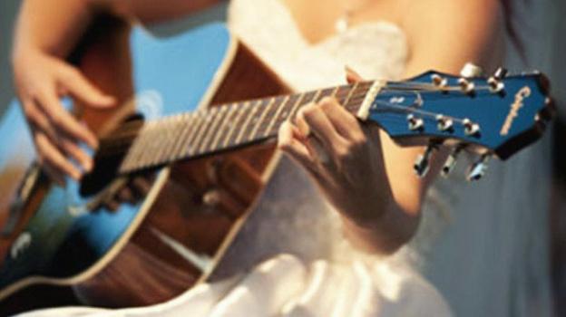 Картинки закрыть, невесты с гитарами картинки