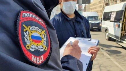 В Воронежской области ещё 23 человека попались на нарушении режима самоизоляции
