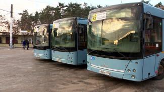 Воронеже популярный маршрут обновили б/у автобусами