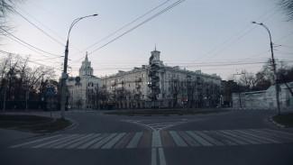 Воронежец снял эффектное видео опустевшего во время пандемии города