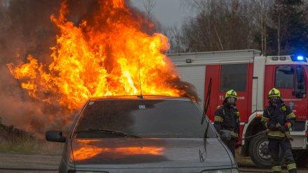 Под Воронежем ревнивый муж едва не сжёг в машине себя и годовалую дочь