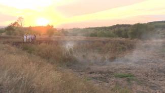 Воронежцы пожаловались на удушающий дым от иловых карт