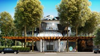 В воронежском парке «Орлёнок» начали строить трёхэтажную «Матрёшку»