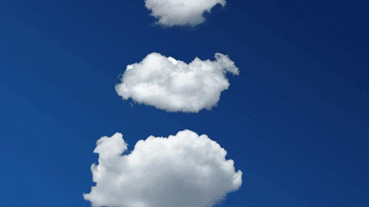 мерцающие картинки облака устраивает здесь