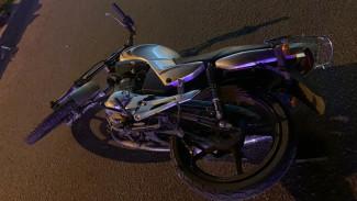 В Воронеже 15-летний байкер и его подруга пострадали в ДТП
